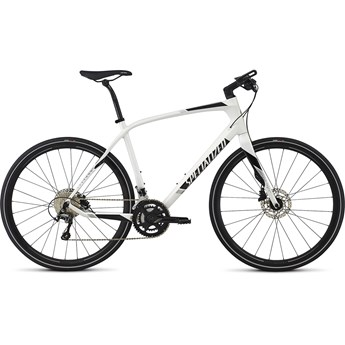 Specialized Sirrus Comp Carbon Metallic White Silver/Black/Light Silver