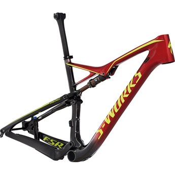 Specialized S-Works Epic FSR Carbon 29 Ram (Frame) Gloss Carbon/Candy Red Fade/Hyper 2017