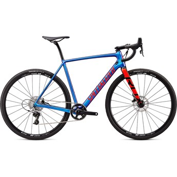 Specialized Crux Elite Gloss Chameleon/Rocket Red/Black