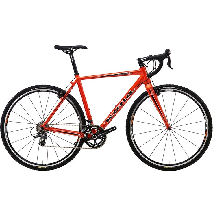 Kona Jake the Snake Metallic Orange with Black and White