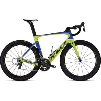 Specialized Venge Pro Vias Gloss Hyper/Team Blue/Tarmac Black