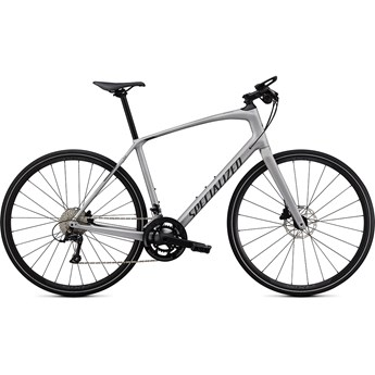 Specialized Sirrus 4.0 Satin Flake Silver/Charcoal/Black Reflective