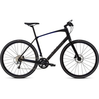 Specialized Sirrus Men Elite Carbon Int Tarmac Black/Rocket Red Acid Blue Fade/Charcoal Reflective