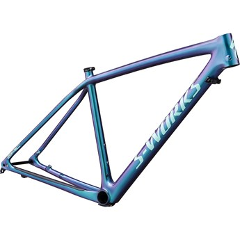 Specialized Epic HT Men S-Works Carbon 29 Frame Gloss Oil Slick/Mint