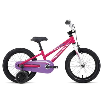 Specialized Hotrock 16 Coaster Girls Hot Pink/Purple/Sparkle White