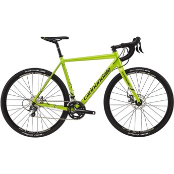 Cannondale CAADX Tiagra Acid Green with Anthracite and Fine Silver, Gloss