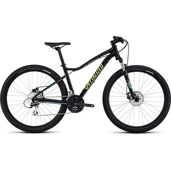 Specialized Jynx 650B Gloss Tarmac Black/Hyper Green/Turquoise