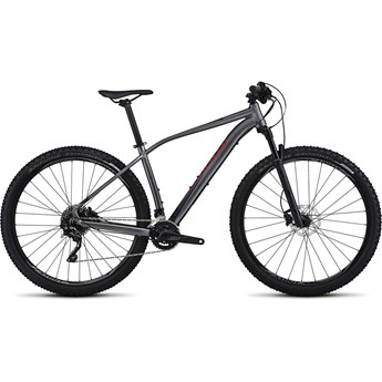 Specialized Rockhopper Pro 29 Satin Gloss Dream Silver/Black/Nordic Red 2017