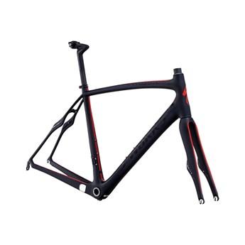 Specialized S-Works Roubaix SL4 Bara Ram (Frameset) Materialfärg/Röd