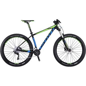 Scott Scale 720 Plus Blå och Grön på Svart