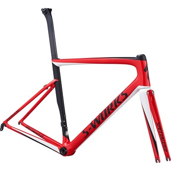 Specialized Tarmac SL6 S-Works Frameset Gloss Flo Red/Metalic White Silver/Satin Black 2019