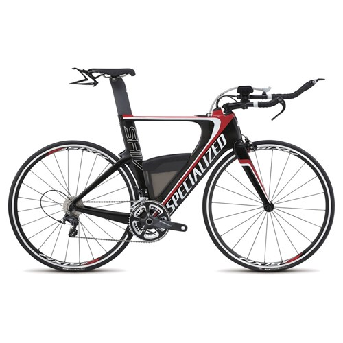 Specialized Shiv Expert Ultegra Double Carbon/White/Red 2015