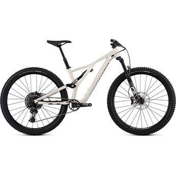 Specialized Stumpjumper FSR ST Womens Comp 29 12 Spd Gloss Satin White Mountains/Nice Blue/Tropical Teal 2019