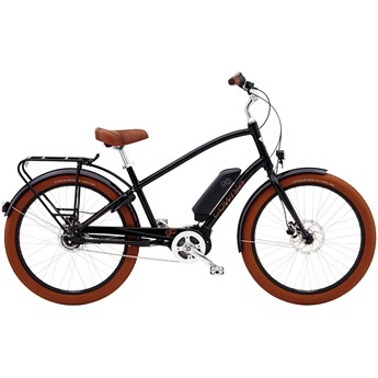 Electra Townie Go! 8i Step-Over Black 2019