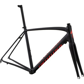 Specialized Allez DSW SL Frameset Black Ano/Red/Clean