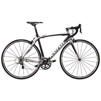 Kona Zing Supreme Matt Unidirectional Carbon with White, Silver and Black