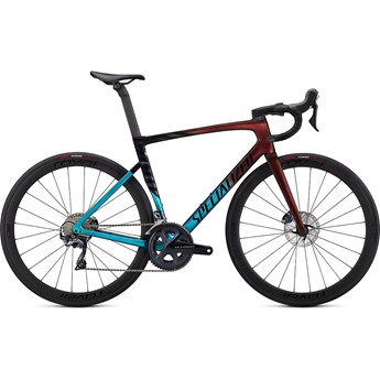 Specialized Tarmac SL7 Expert Ultra Turquoise/Red Gold Pearl/Black