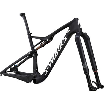 Specialized S-Works Epic 29 World Cup Frameset Satin Gloss Carbon/White Clean