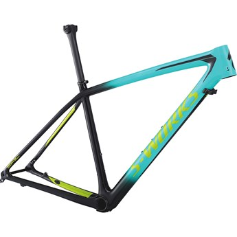 Specialized S-Works Epic HT Men Carbon 29 Frame Gloss Acid Mint/Cosmic Black/Hyper Green 2018