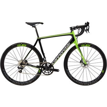 Cannondale Synapse Hi-Mod Disc Team Jet Black with Berzerker Green and Chrome, Gloss