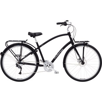 Electra Townie Commute 27D EQ Step-Over Black Satin 2020