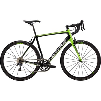 Cannondale Synapse Hi-Mod Ultegra Berzerker Green with Jet Black and Chrome, Gloss