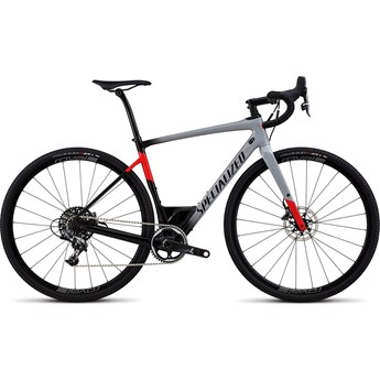 Specialized Diverge Men Expert X1 Gloss Cool Grey/Black/Flo Red 2018