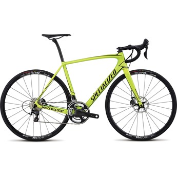Specialized Tarmac Expert Disc Gloss Monster Green/Team Yellow/Edge Fade