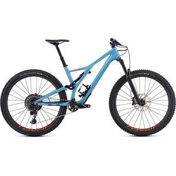 Specialized Stumpjumper FSR Men Expert Carbon 29 Gloss/Storm Grey/Rocket Red