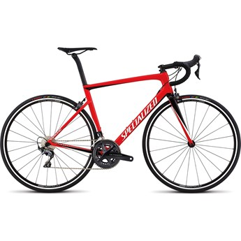 Specialized Tarmac Men SL6 Expert Flo Red/Metallic White Silver/Tarmac Black 2018