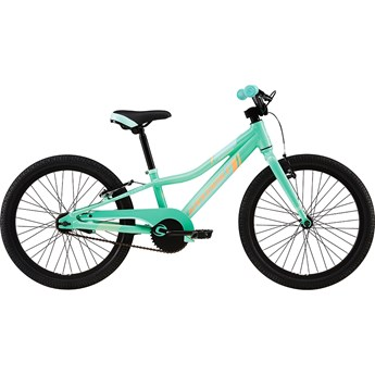 Cannondale Trail 20 Single-Speed Girls Tropics with Linen Green and Brazilliant, Gloss