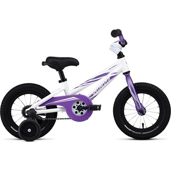Specialized Hotrock 12 Coaster Brake (Fotbroms) Girl White/Purple