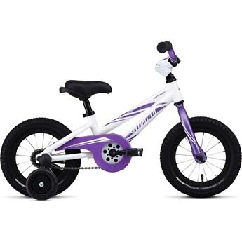 Specialized Hotrock 12 Coaster Brake (Fotbroms) Girl White/Purple