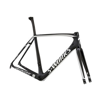 Specialized S-Works Tarmac Frameset (Rampaket) Carbon/White