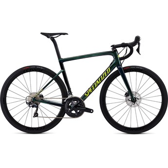 Specialized Tarmac Men SL6 Expert Disc Chameleon Green/Cast Blue/Tarmac Black/Team Yellow