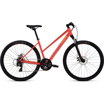 Specialized Ariel Mech Disc Step-Through Int Acid Red/Limon/Tarmac Black