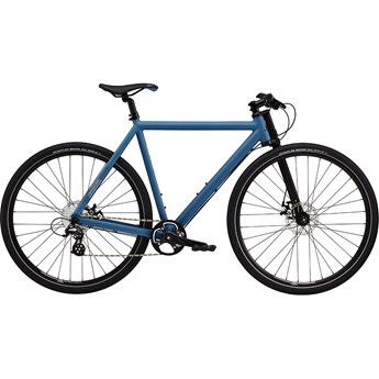 Cannondale Canvas 2 Blue Collar with Brushed Aluminium and Charcoal Gray