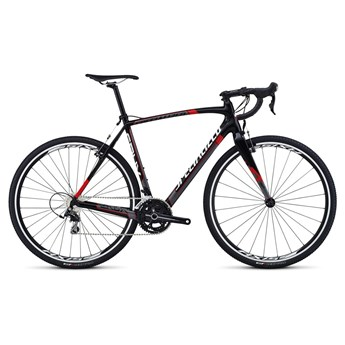 Specialized Crux Sport Carbon 105 Materialfärg/Askgrå/Röd