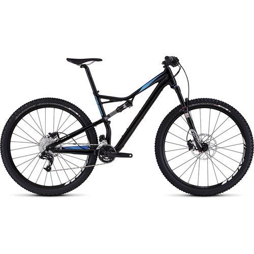 Specialized Camber FSR Comp 29 Gloss Black/Cyan/White 2016