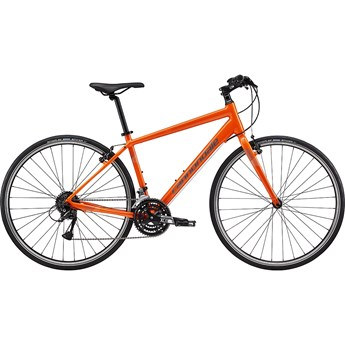 Cannondale Quick 6 Hazard Orange, with Charcoal Gray and Fine Silver, Reflective Detail, Gloss