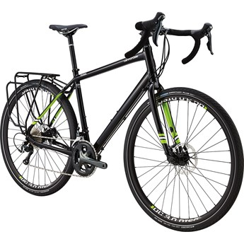 Cannondale Touring 1 Jet Black with Berserker Green and Magnesium White, Gloss