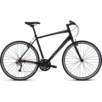 Specialized Sirrus Sport Black/Satin Black/Red