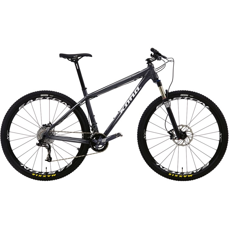 Kona Big Kahuna Matt Dark Grey with White and Silver