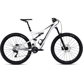 Specialized Stumpjumper FSR Comp Carbon 650B Gloss White/Black