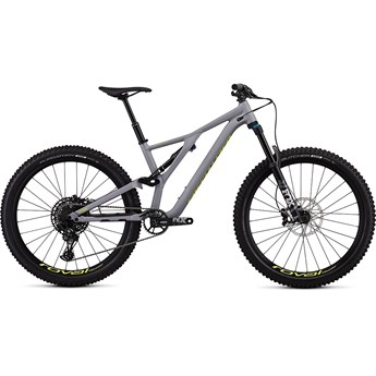 Specialized Stumpjumper FSR Men Comp 27.5 12 SPD Satin Cool Grey/Team Yellow 2019