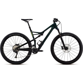 Specialized Camber FSR Men Comp Carbon 29 2-X Gloss Cavendish Green/Hyper Green Clean 2018