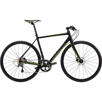 Kona Esatto Fast Matt Black with Silver, Dark Green and Lime Decals