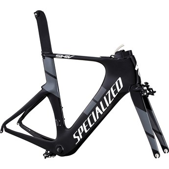 Specialized Shiv Pro Frameset Gloss Carbon/White/Charcoal