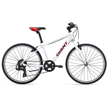 Giant Escape Jr 24 White/Red