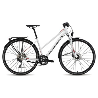 Specialized Crossover Elite Disc Step Through White/Red/Black
